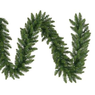 Vickerman 9 ft Unlit Indoor/Outdoor Camdon Fir Artificial Christmas Garland