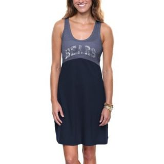 Chicago Bears Ladies Baby Jersey Dress   Navy Blue