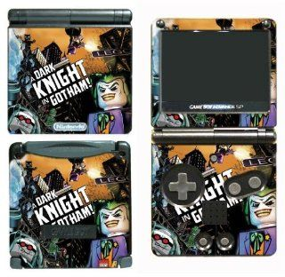 Batman Begins The Dark Knight Rises Joker Bane Movie Cartoon Video Game Vinyl Decal Cover Skin Protector for Nintendo GBA SP Gameboy Advance Game Boy Video Games