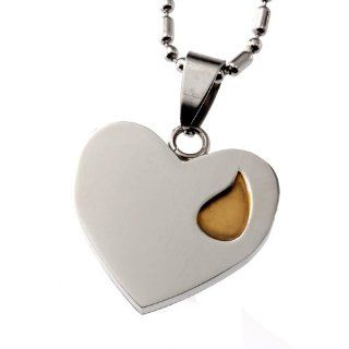 "R.H. Jewelry Mens Womens Stainless Steel Pendant, ""I Know for Certain That We Never Lose the People We Love Jewelry"