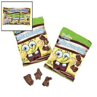 SpongeBob Squarepants&#8482 Mini Milk Chocolate Snacks   Candy & Chocolate  Gourmet Food  Grocery & Gourmet Food