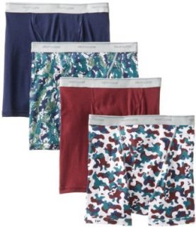 Fruit Of The Loom Mens 4 Pack Boxer Brief at  Men�s Clothing store