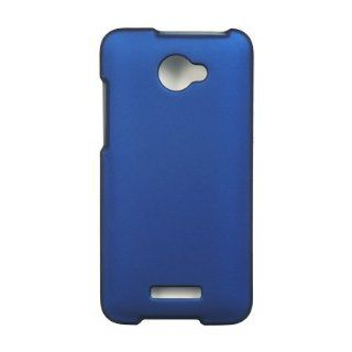 VMG 3 Item Combo for Verizon HTC Droid DNA Hard Cell Phone Case Cover   Blue + LCD Clear Screen Protector + Premium Car Charger Cell Phones & Accessories