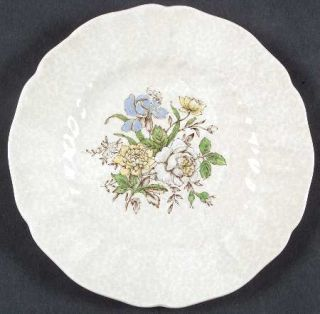 Royal Doulton Sutherland Bread & Butter Plate, Fine China Dinnerware   Multicolo