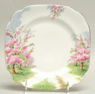 Royal Albert Blossom Time Salad Plate, Fine China Dinnerware   Hampton, Landscap