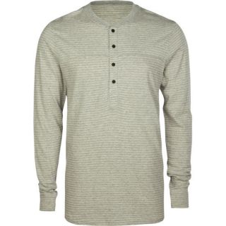Conley Mens Henley Heather Grey In Sizes Large, X Large, Medium, Small F