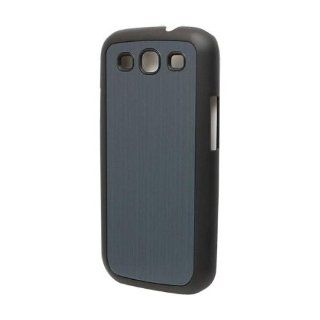 Versio Mobile VM 20259 Brushed Aluminum Case for Samsung Galaxy S III   Black/Blue Cell Phones & Accessories
