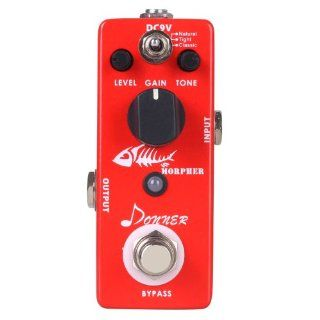 Donner Morpher Distortion Mini Guitar Effect Pedal Musical Instruments