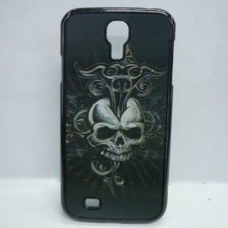 3D Effect Devil Skull Head Patterned Protective Back Case Cover for Samsung Galaxy S4 i9500 Cell Phones & Accessories