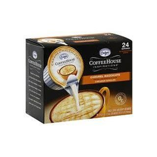 INTERNATIONAL DELIGHT BRAND LIQUID CREAMER CARAMEL MACHIATO 6 BOXES OF 24 (CLUB PACK)  Coffee Creamers  Grocery & Gourmet Food