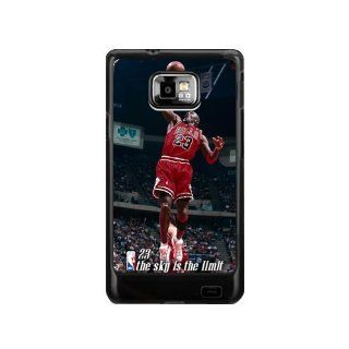 Great Moment NBA Michael Jordan Samsung Galaxy S2 Case NBA Star Samsung Galaxy S2 I9100 Cases Cover(DOESN'T FIT T MOBILE AND SPRINT VERSIONS) Cell Phones & Accessories