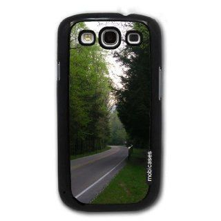 Great Smoky Mountains National Park   Protective Designer BLACK Case   Fits Samsung Galaxy S3 SIII i9300 Cell Phones & Accessories