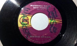 "Time / Running Back And Forth 7"" 45   Gordy   G 7097 Music"