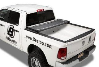 Bestop 16240 01 EZ Fold Truck Tonneau Cover for Dodge Ram, 1500, 6.4' Bed, 2009 2013; Dodge Ram 2500/3500, 6.4' Bed, 2010 2013 (except Ram Box) Automotive