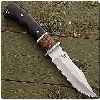 "US Marine Corps Leather Neck Fixed blade Knife   ""The Few, The Proud"" USMC Collection  Hunting Knives  Sports & Outdoors"