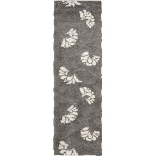 Safavieh Florida Shag Light Gray Rug