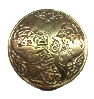 Bronze Celtic Three Horse Celtic Knot Pendant Jewelry