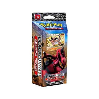 Pokemon Trading Card Game Emerging Powers (BW2) Theme Deck Power Play Krookodile Toys & Games