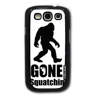 Gone Squatchin Big Foot   Protective Designer BLACK Case   Fits Samsung Galaxy S3 SIII i9300 Cell Phones & Accessories