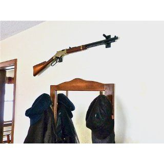 Standard Horizontal Wall Mounts for a Shot Gun Rifle (Made in the USA)  Gun Racks And Accessories  Sports & Outdoors