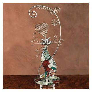 "2012 Elegant Jewelry Holder   Gorgeous Rainbow Cat Design Earring Holder (13"" H), This Elegant Jewelry Holder Shows a Playful Side With a Cute Cat Shape. It Allows You to Display Numerous Pairs of Earrings in a Decorative Way.No More Having Your Earri"