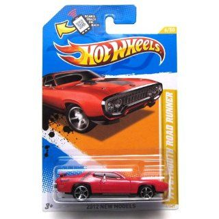 2012 Hot Wheels New Models '71 Plymouth Road Runner Red #6/247 Toys & Games