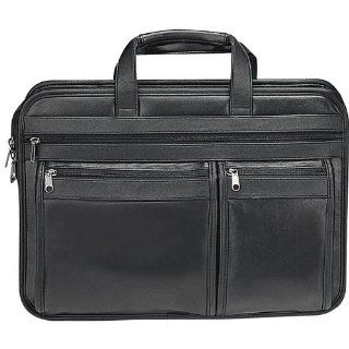 Houston Deluxe Soft Leather Computer Briefcase Computers & Accessories