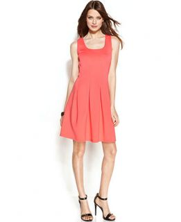 Spense Petite Sleeveless Pleated Dress   Petite   Women