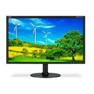 NEC MultiSync EX231W BK 23 inch Widescreen 25,0001 5ms DVI/DisplayPort LED LCD Monitor w/ USB Hub Computers & Accessories