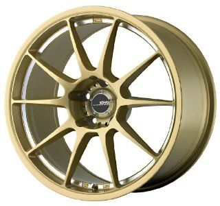"Konig Milligram Gold Wheel with Machined Undercut (18x8.5""/5x114.3mm) Automotive"