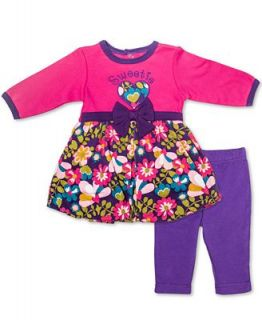 Baby Essentials Set, Baby Girls 2 Piece Dress and Leggings   Kids
