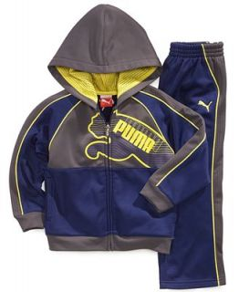Puma Kids Set, Little Boys 2 Piece Fleece Hoodie and Pant Set   Kids