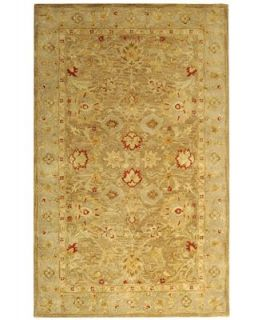 MANUFACTURERS CLOSEOUT Safavieh Area Rug, Antiquity AT822B Brown/Beige 5 X 8   Rugs