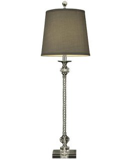Dale Tiffany Table Lamp, Crystal Buffet Beige   Lighting & Lamps   For The Home