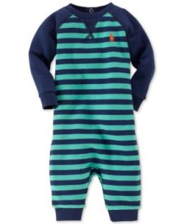 Ralph Lauren Baby Coverall, Baby Boys Striped Coverall   Kids