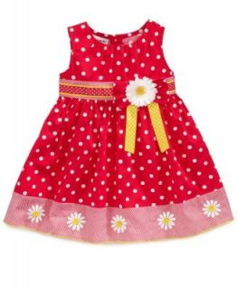 Blueberi Boulevard Baby Girls Gingham Halter Dress   Kids