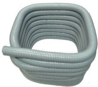 Generic SVF Vacuum Cleaner Hose 2 Inch 50' Wire Reinforced Color Gray   Household Vacuum Hoses