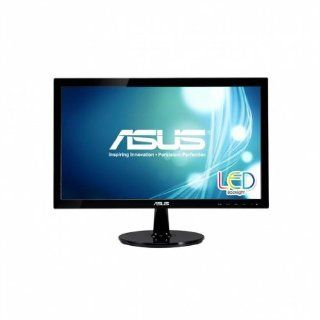 Asus VS207T P 19.5 inch Widescreen 80,000,0001 5ms VGA/DVI LED LCD Monitor, w/ Speakers (Black) Computers & Accessories