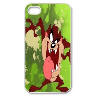 Mystic Zone Customized Taz iPhone 4 Case for iPhone 4/4S Hard Cover cool Cartoon Fits Case KEK0042 Cell Phones & Accessories
