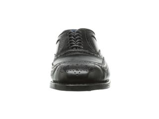 Allen Edmonds University Black Leather/Blue Lining