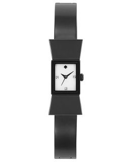 kate spade new york Watch, Womens Carlyle Black Ion Plated Stainless Steel Bracelet 15mm 1YRU0203   Watches   Jewelry & Watches