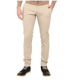 DSQUARED2 Stretch Light Cotton Tennis Pant Mens Casual Pants (Beige)