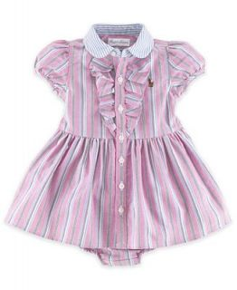 Ralph Lauren Baby Girls Dress, Baby Girls Oxford Dress   Kids