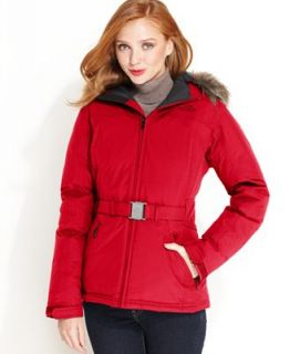 The North Face Jacket, Greenland Faux Fur Trim Hooded Parka   Coats   Women