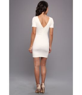 Amanda Uprichard S/S Column Mini Dress Ivory