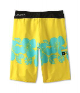Rip Curl Kids Mirage Tropic Punch 20 Boardshort Big Kids Yellow