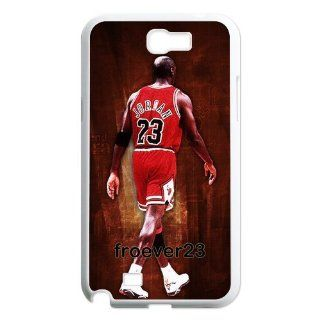 Customize Micheal Jordan Samsung Galaxy Note 2 N7100 Hard Case Fits and Protect Samsung Galaxy Note 2 Cell Phones & Accessories