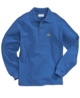 Lacoste Kids Shirt, Boys or Little Boys Long Sleeved Thermal Henley   Kids