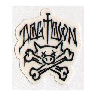 Dogtown Skateboards Skateboard Sticker   Old School Skateboarding small  Standard Skateboards  Sports & Outdoors