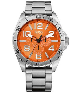 Hugo Boss Mens Boss Orange Stainless Steel Bracelet Watch 48mm 1512944   Watches   Jewelry & Watches